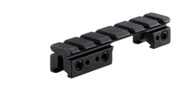 "BKL 558 3/8"" 11mm Dovetail to Weaver/Picatinny Base Adapter and Riser for BOLT ACTION rifles"